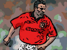 Brian McClair Manchester United Boxing Day Premier League