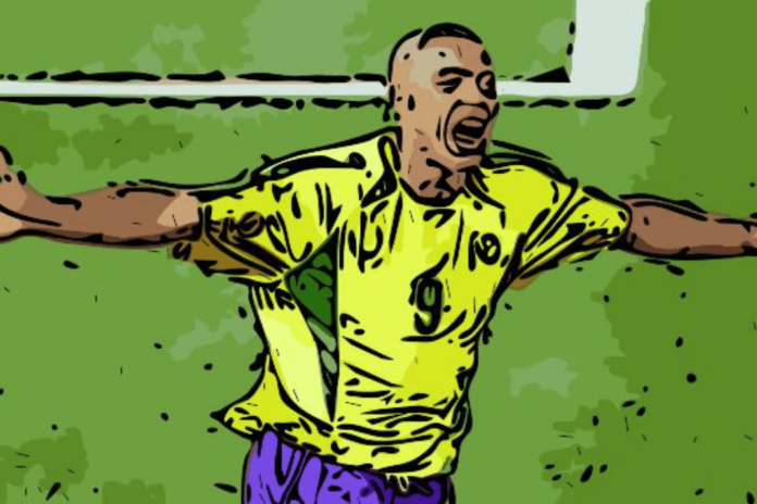 Ronaldo Brazil Real Madrid FIFA World Cup 2002